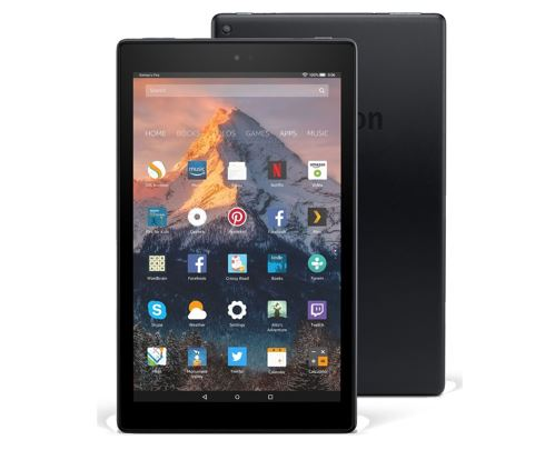 amazon fire hd 10 best tablet 2018