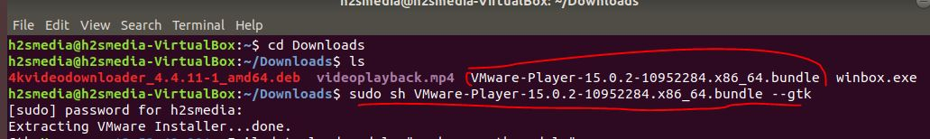 How to install Vmware workstation Player on Ubuntu Linux