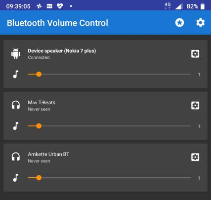 default volume for individual Bluetooth audio devices 3 Pics 10