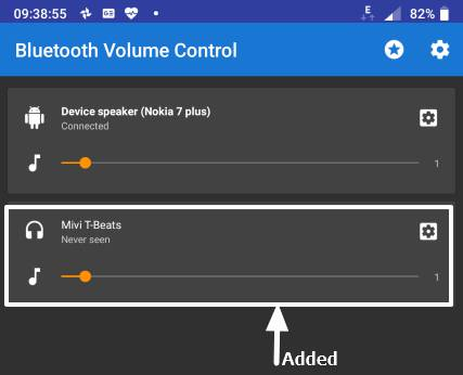default volume for individual Bluetooth audio devices 3 Pics 9