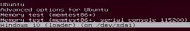 fix windows and ubutnu dual boot
