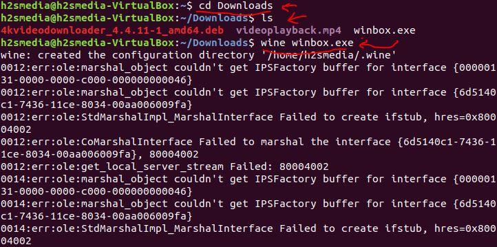 winbox ubuntu linuxmint