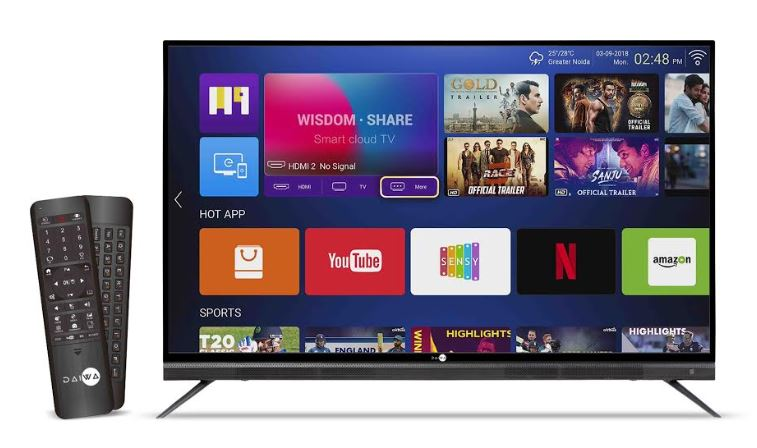 65inch 4K ultra HD Quantum Luminit Smart LED TV'