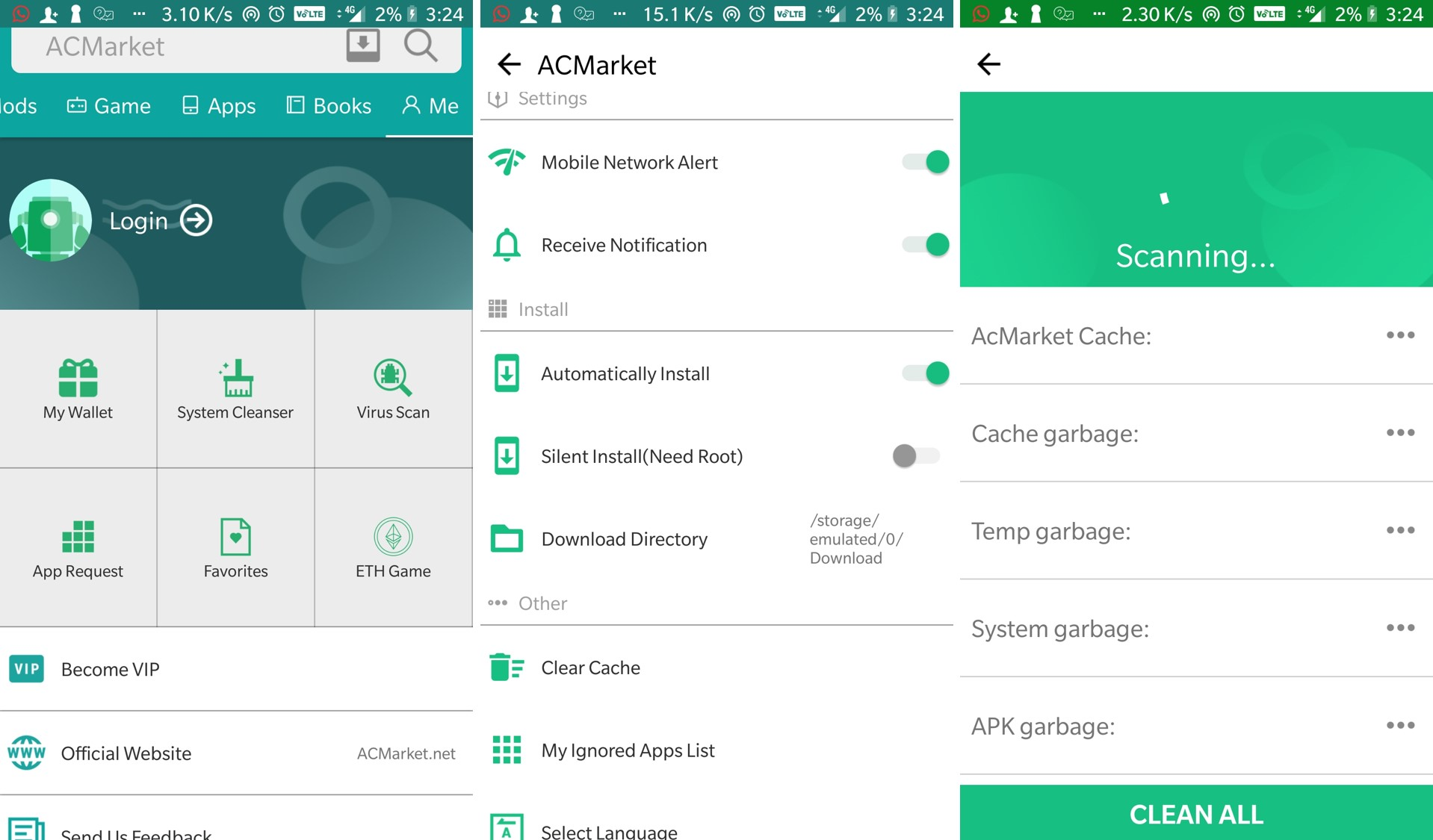 ACmarket Android Apk: How to download and Install