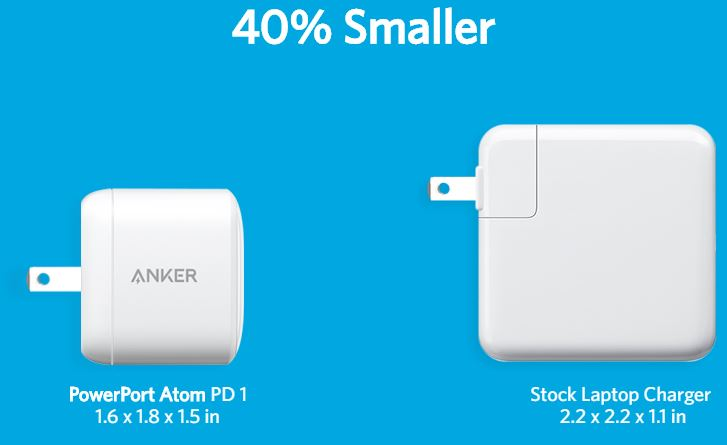 Anker Atom PD1 charger