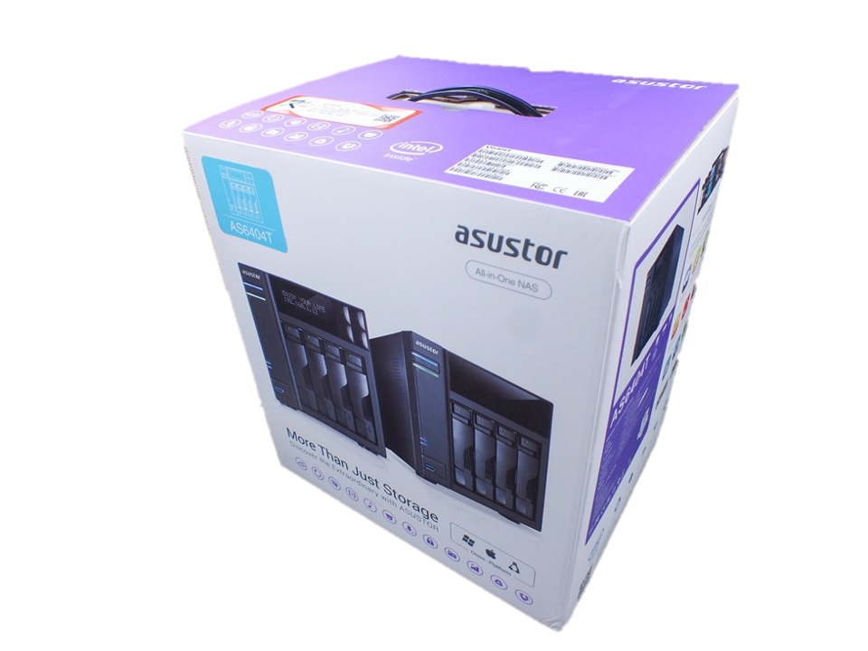 Asustor As6404t NAs packaging 2