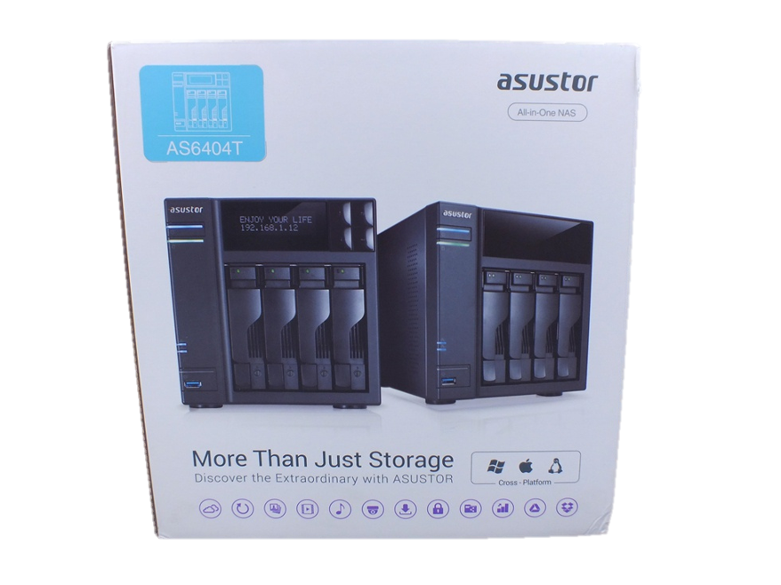 Asustor As6404t NAs packaging review