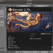 Download and install the Blender on Ubuntu 18, 17, 16, 14