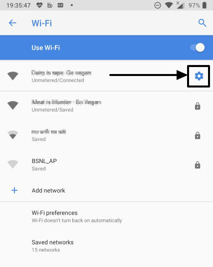 How to set Wi-Fi networks as metered or unmetered on Android devices 1