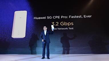 Huawei Launches 5G Multi-mode Chipset and 5G CPE Pro