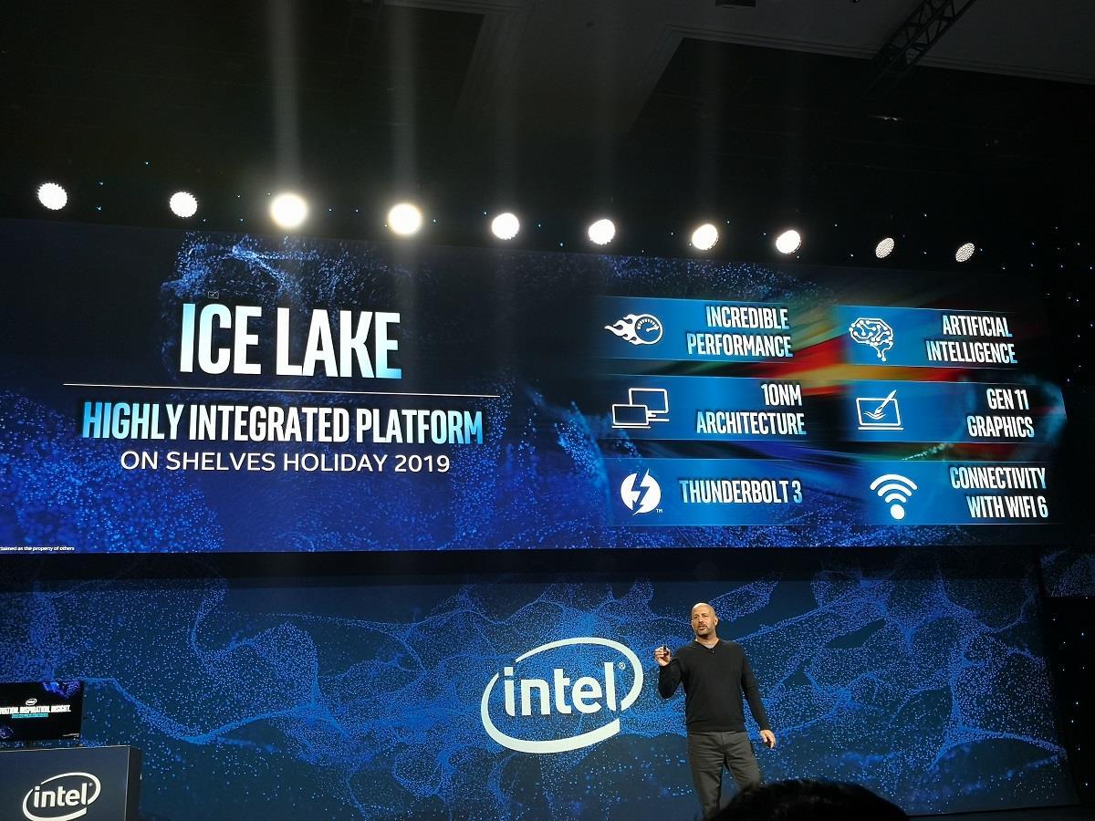 Intel 10nm processor ice lake