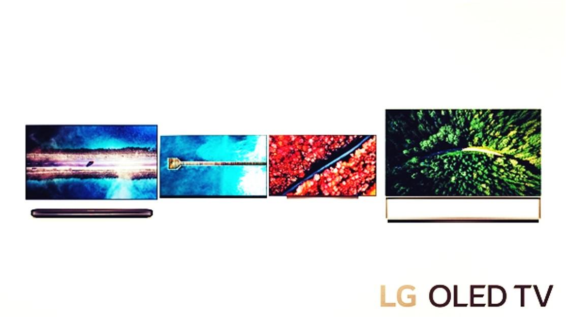 LG CES TVs