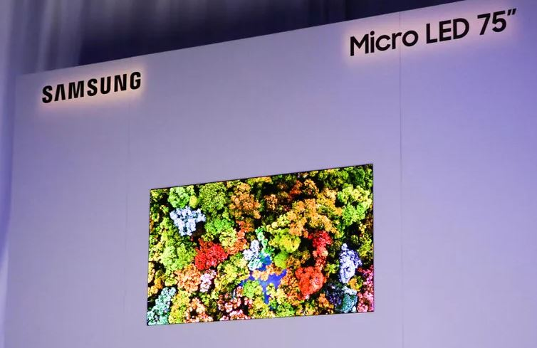 MicroLEd samsung Ces2019