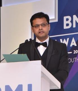 Mr Prashant Mishra, Managing Director of British Medical Journal (BMJ) India and South Asia