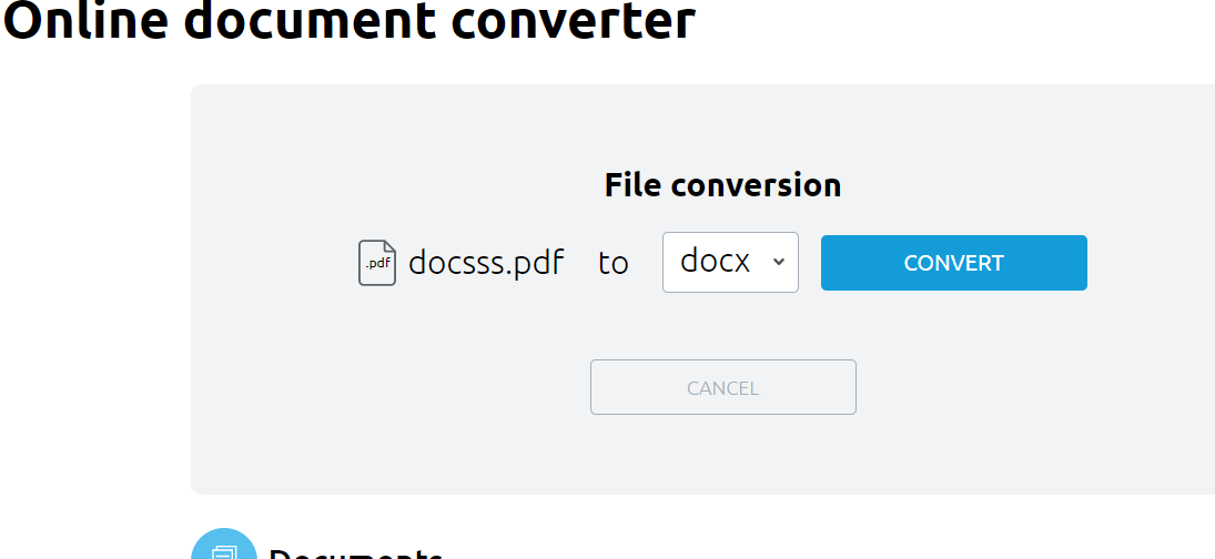 Best Free Online Converter to convert audio, documents