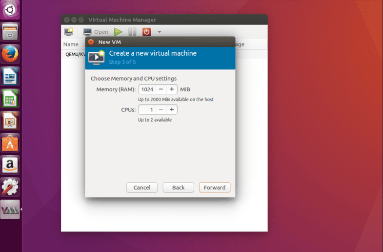 QEMU virtualbox alternative