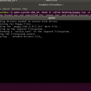 Qemu installing virtual machine