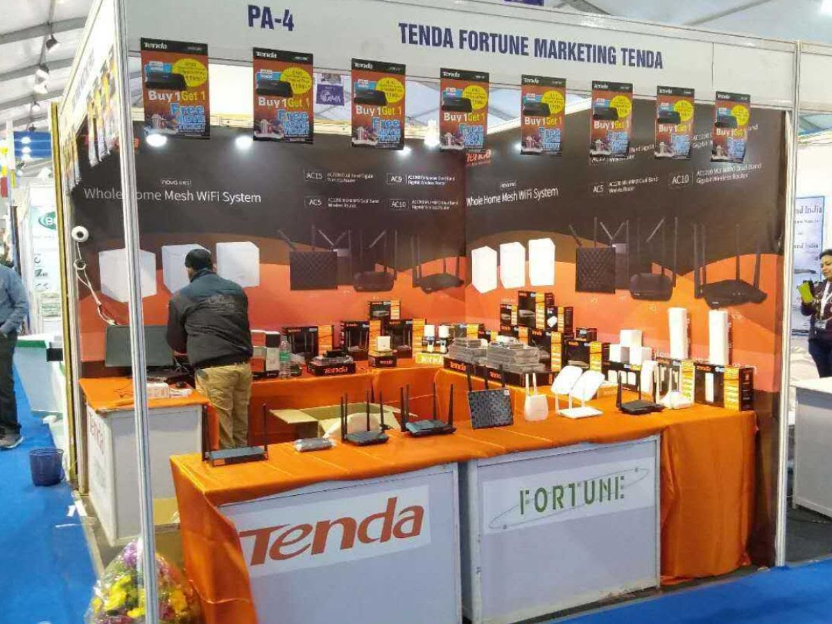 Tenda Showcased Networking Solutions at The Cable TV Show 2019