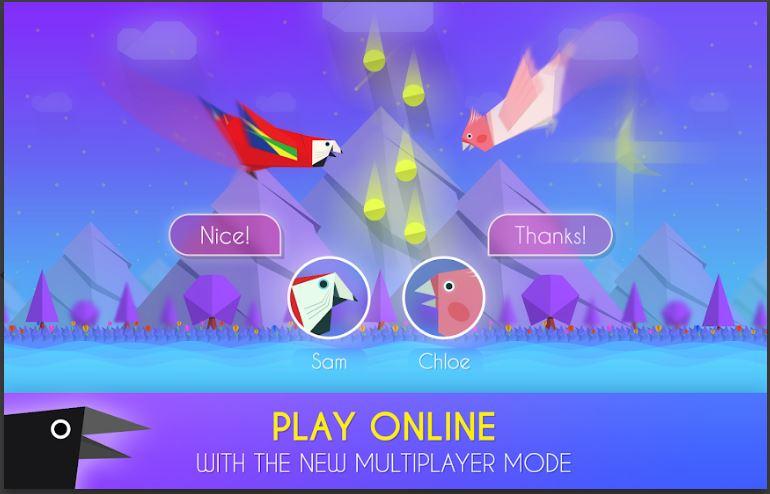paper bird best offline game adroid smartphone