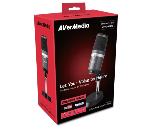 Avermedia Am310 usb mic review