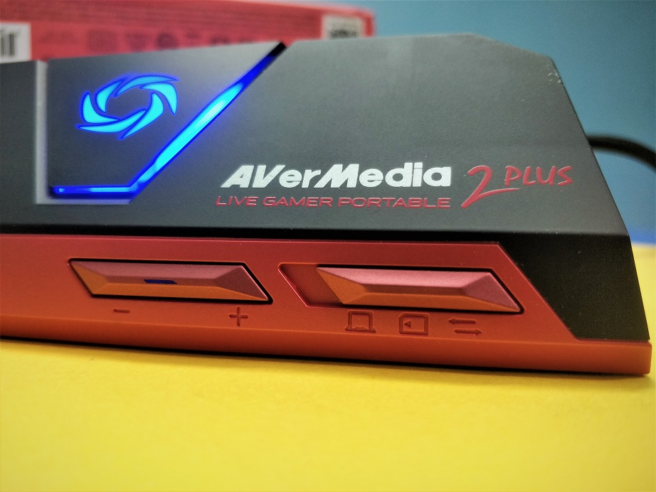 Avermedia live gamer portable 2 plus Design buttons