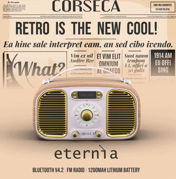 Corseca eternia Bluetooth Speakers
