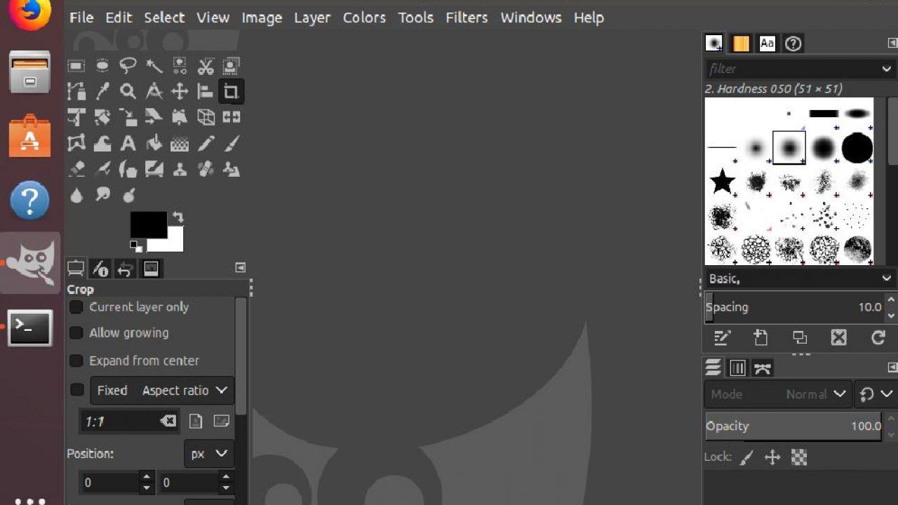 How to install Gimp on Ubuntu via command terminal | H2S Media
