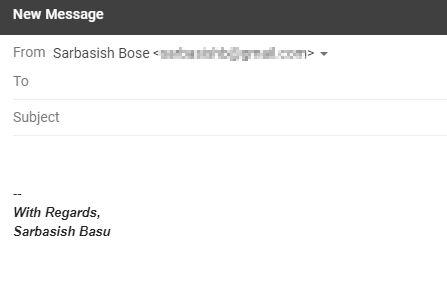 Gmail signatures 3