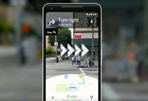 Google Augmented reality map feature soon be in your phones