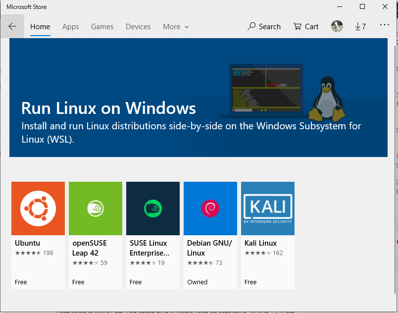 Linux apps for windows