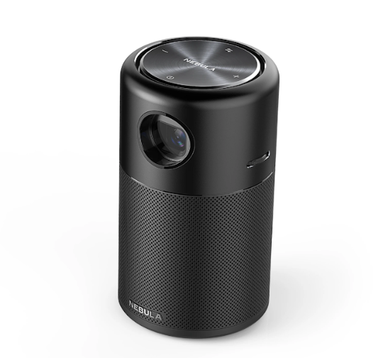 Nebula Capsule Portable Mini Projector with Wi-Fi  & 360° Speaker launched at Rs 31,999