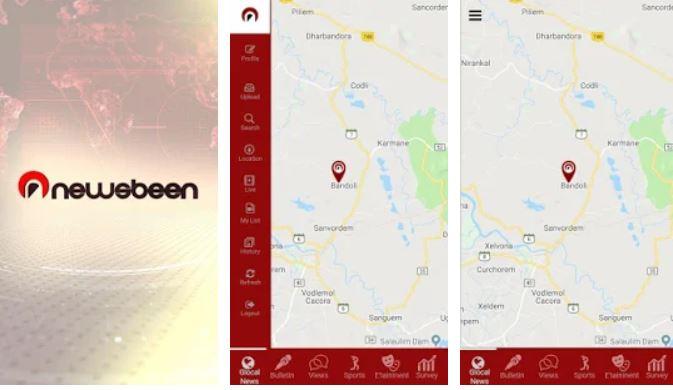 Newsbeen app
