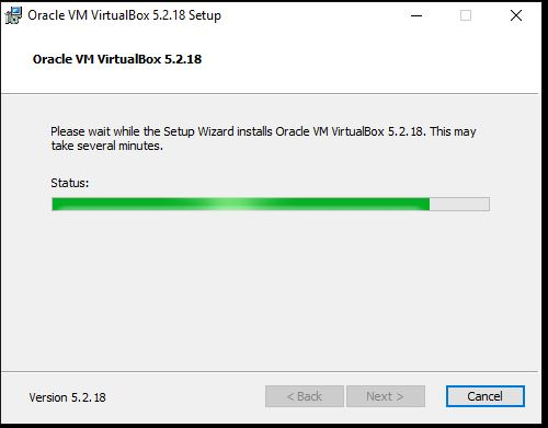 Setup wizard oracle virtualbox install windwos 10 or 7