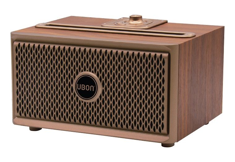 UBON Launches SP 50 Wooden Wireless Vintage speaker for Rs 2,990