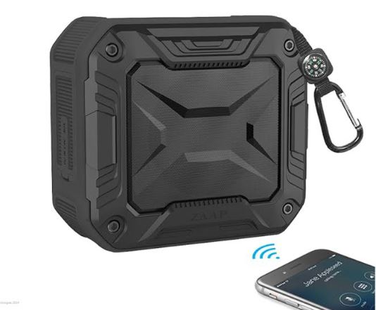 ZAAP Aqua Boom, a water proof Bluetooth Speaker at ₹ 1,949