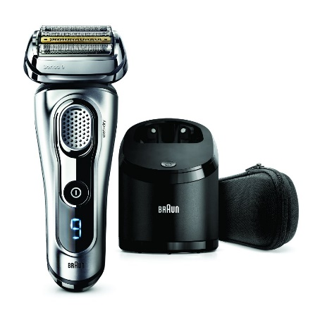 Shaver with clean and charge system