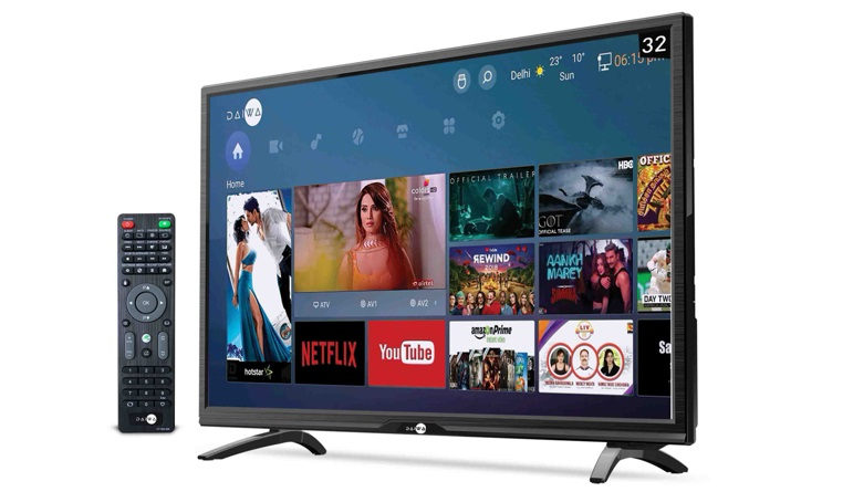 Daiwa Smart TV D32C4S priced