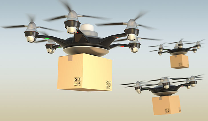 Delivery drones IOT examples