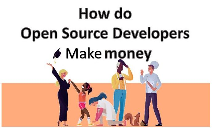 How do open source programmers and developers earn for their developments