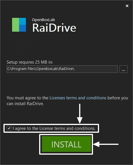 Tải xuống RaiDrive