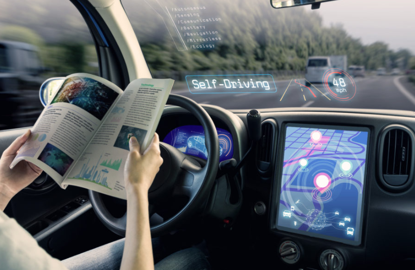 Self-driving cars IOT example 2020