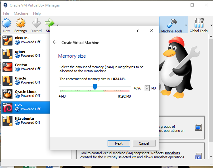 Set Virtual memory for Ubuntu 19.04