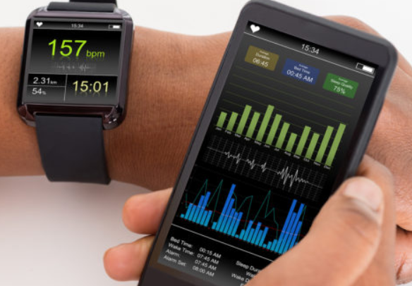 Smart wearables IOT example