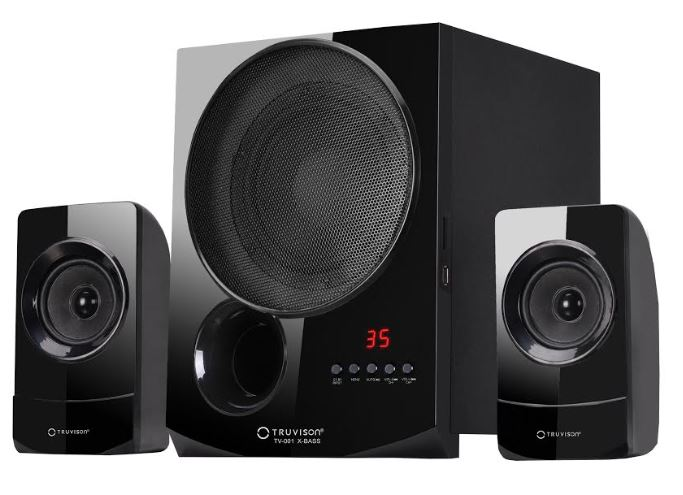 Truvison launches 2.1 'TV-001 X-Bass' Multimedia Speaker at just Rs.5990