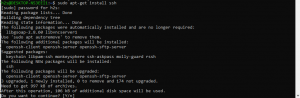Ubuntu enable ssh to connect and manager server remotely