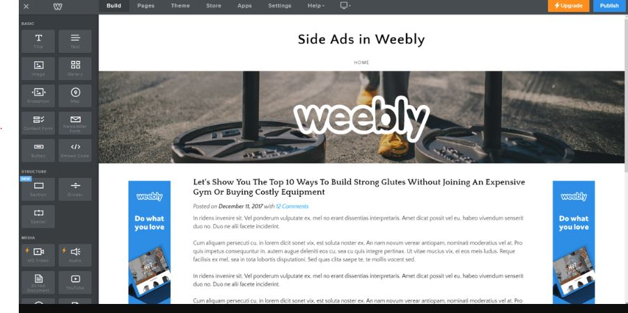 Weebly free web-builder