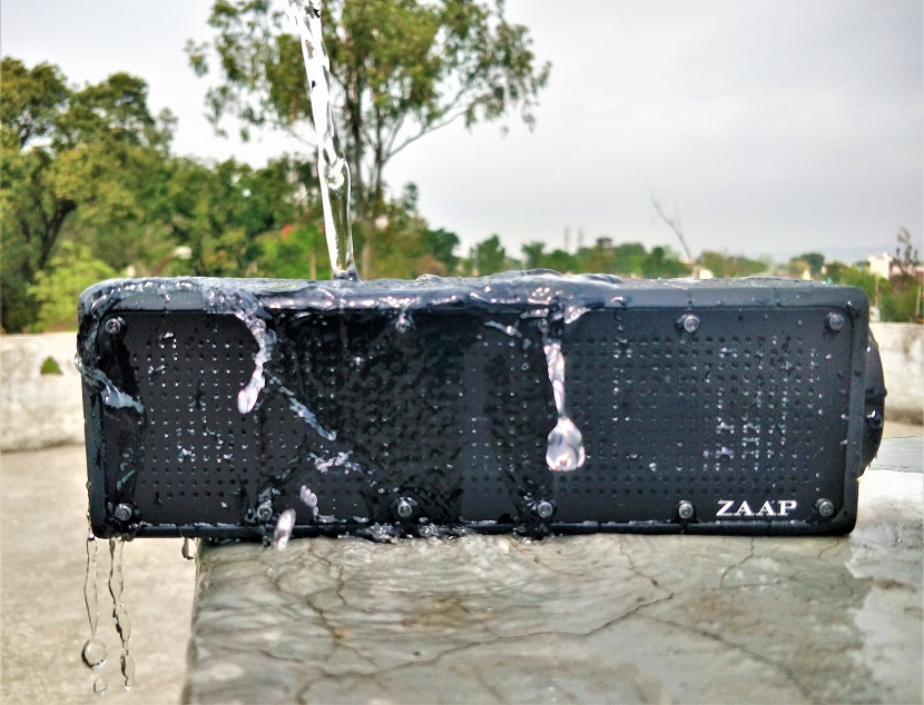 ZAAP Aqua Pro Speaker box review 5