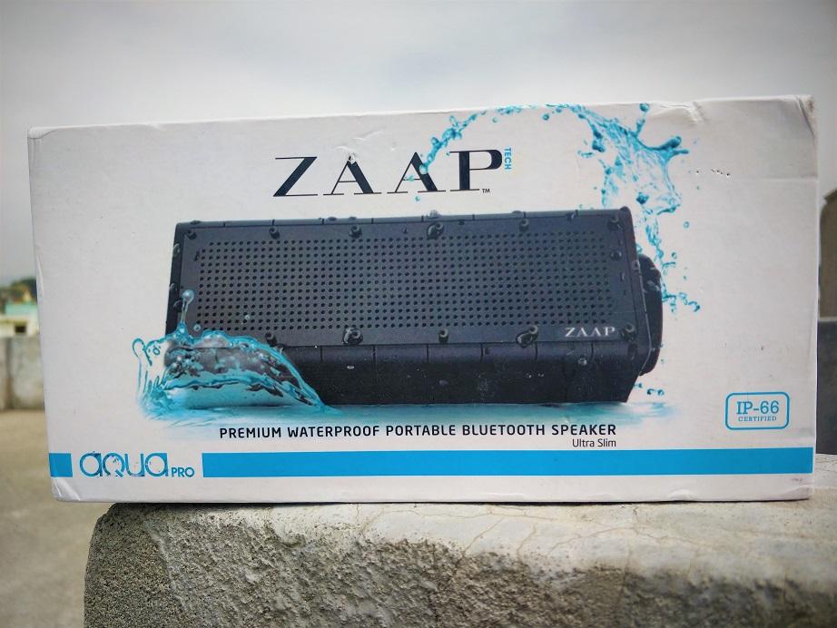 ZAAP Aqua Pro Speaker review