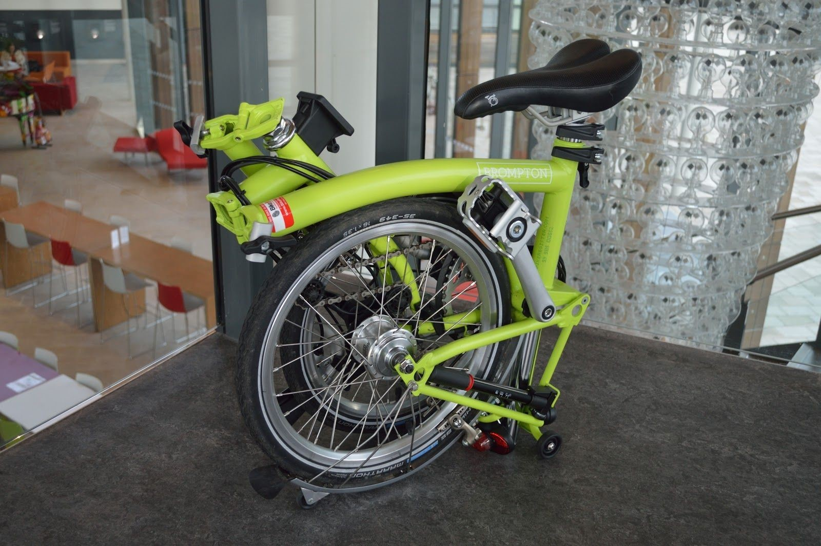 bike like the Brompton or Birdy