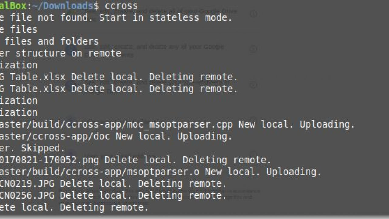 How to install Cloudcross on Linux Ubuntu, Redhat & Arch